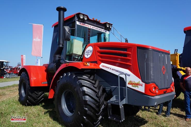 Doc22.ru В прошлом году в Алтайском крае было собрано более 140 тракторов «Кировец», производство которых субсидируется из федерального и регионального бюджетов.