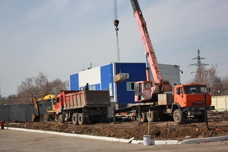 Doc22.ru Строительство завода ООО «Любава» по производству маргарина идет полным ходом. Фото Алтайпищпром